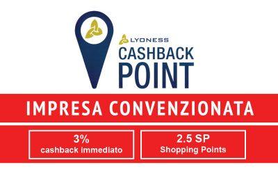 Convenzione LYONESS Cashback World. Card Personale per i Clienti